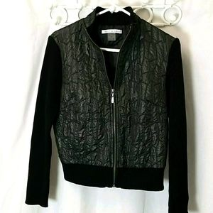 Peter Nygard Womans Jacket Size Medium Black